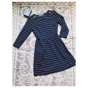 Maurice's Blue & White Striped Dress